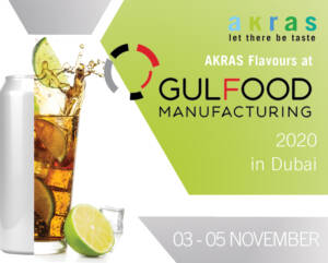 AKRAS Flavours Gulfood Manufacturing 2020