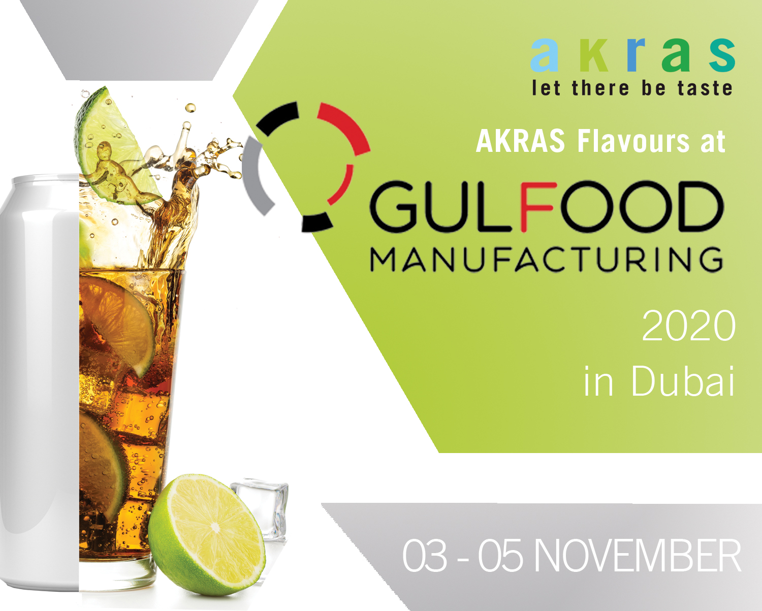 AKRAS Flavours Gulfood Manufacturing